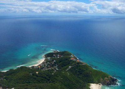 Aerial View Cape Byron